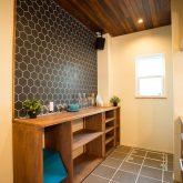 注文住宅 かっこいい工務店 福井建設の家 施工例12 オリジナルスタイル インダストリアルな大人の寛ぎ空間 キッチン