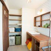 注文住宅 かっこいい工務店 福井建設の家 施工例12 オリジナルスタイル インダストリアルな大人の寛ぎ空間 洗面台