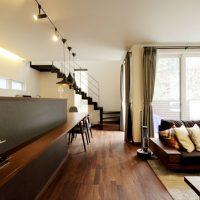 注文住宅 かっこいい工務店 岡山 アイム・コラボレーション アイムの家 施工例14 プライベートな裏庭のあるリビング、 コーディネーターと一緒につくる家 LDK
