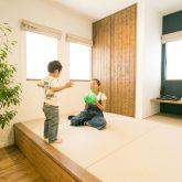 注文住宅 かっこいい工務店 熊本 ブレス ブレスホーム 施工例 28 ゼロエネルギー住宅 耐震等級3 シンプルモダン 木の温もりとインダストリアル融合 小上がりの和室