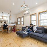 注文住宅 かっこいい工務店 福岡 不動産プラザ モデルハウス ガーデンシティ黒崎南 施工例13 プロヴァンス LDK