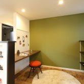 注文住宅 かっこいい工務店 岡山 アイム・コラボレーション アイムの家 施工例15 ゼロエネルギー住宅 ファミリーライブラリー