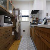 注文住宅 かっこいい工務店 東京 ジェイプラン 施工例 相模原市 セミオーダー アメリカン ナチュラル 木製 キッチン 背面収納