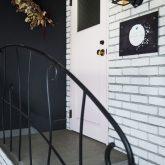 かっこいい工務店 熊本 ブレス ブレスホーム リノベーション ナチュラルモダン サロンのある家 玄関アプローチ