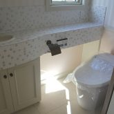 注文住宅 かっこいい工務店 宮城 富樫工業 施工例59 プロヴァンス トイレ
