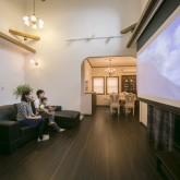 注文住宅 かっこいい工務店 不動産プラザ 施工例10d 映画スクリーン