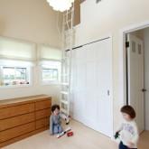 注文住宅 かっこいい工務店 不動産プラザ 施工例1f  平屋(北米スタイル) 子供部屋