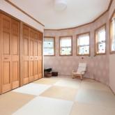 注文住宅 かっこいい工務店 不動産プラザ 施工例1h  平屋(北米スタイル) 寝室