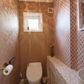 注文住宅 かっこいい工務店 不動産プラザ 施工例1i  平屋(北米スタイル) トイレ