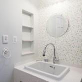 注文住宅 かっこいい工務店 不動産プラザ 施工例8h 洗面化粧台