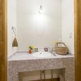 注文住宅 かっこいい工務店 不動産プラザ 施工例9h 造作洗面化粧台