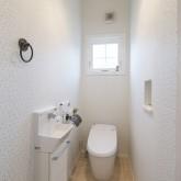 注文住宅 かっこいい工務店 不動産プラザ 施工例9i トイレ