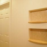 注文住宅 かっこいい工務店 福井建設の家 施工例10c ニッチ 飾り棚