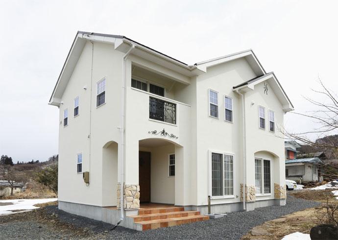 注文住宅 かっこいい工務店 福井建設の家 施工例1a 南仏スタイル