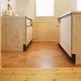 注文住宅 かっこいい工務店 福井建設の家 施工例1f 造作キッチン