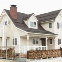 かっこいい工務店 福井建設の家施工例3 北米スタイル