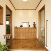 注文住宅 かっこいい工務店 福井建設の家 施工例3c 玄関