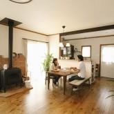 注文住宅 かっこいい工務店 福井建設の家 施工例3f ダイニングキッチン