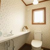 注文住宅 かっこいい工務店 福井建設の家 施工例3l トイレ