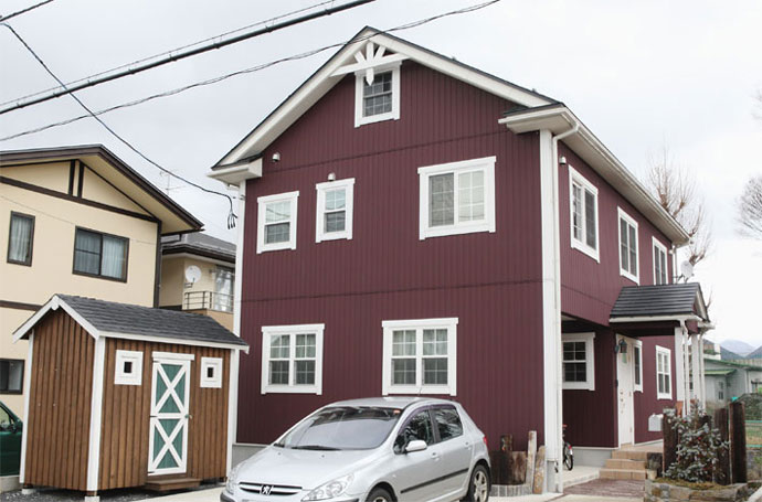 注文住宅 かっこいい工務店 福井建設の家 施工例4a 北欧スタイル