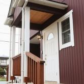 注文住宅 かっこいい工務店 福井建設の家 施工例4d エントランス