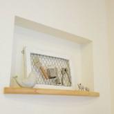 注文住宅 かっこいい工務店 福井建設の家 施工例i ニッチ 飾り棚