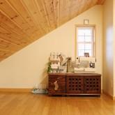 注文住宅 かっこいい工務店 福井建設の家 施工例l 屋根裏部屋