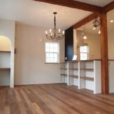注文住宅 かっこいい工務店 福井建設の家 施工例7b ダイニングキッチン