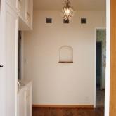 注文住宅 かっこいい工務店 福井建設の家 施工例8b 玄関ホール