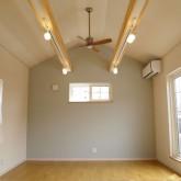 注文住宅 かっこいい工務店 福井建設の家 施工例9g 寝室