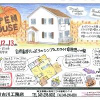 注文住宅 かっこいい工務店 輸入住宅 古川工務店完成見学会141011