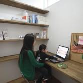 注文住宅 かっこいい工務店 在来工法 ブレス 成功例7 シンプルモダン ワークスペース