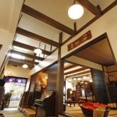 注文住宅 かっこいい工務店 在来工法 ブレス 成功例9 熊本県熊本市北区 ジャパニーズ  店舗併設 吹き抜け