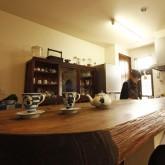 注文住宅 かっこいい工務店 在来工法 ブレス 施工例9 ジャパニーズ 店舗併設 キッチン