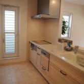注文住宅 かっこいい工務店 オーダーメイド ミューズ建築工房 施工例2 二世帯 システムキッチン