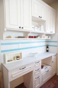 注文住宅のかっこいい工務店 Ie-Plan イエプラン モデルハウス 造作キッチン バック収納