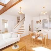 注文住宅 かっこいい工務店 ハウスデザイン Ie Plan イエプラン 施工例2d 吹き抜けリビング LDK