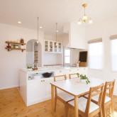 注文住宅 かっこいい工務店 ハウスデザイン Ie Plan イエプラン 施工例2e ダイニングキッチン