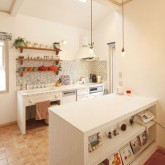 注文住宅 かっこいい工務店 ハウスデザイン Ie Plan イエプラン 施工例4g アイランドキッチン 造作キッチン