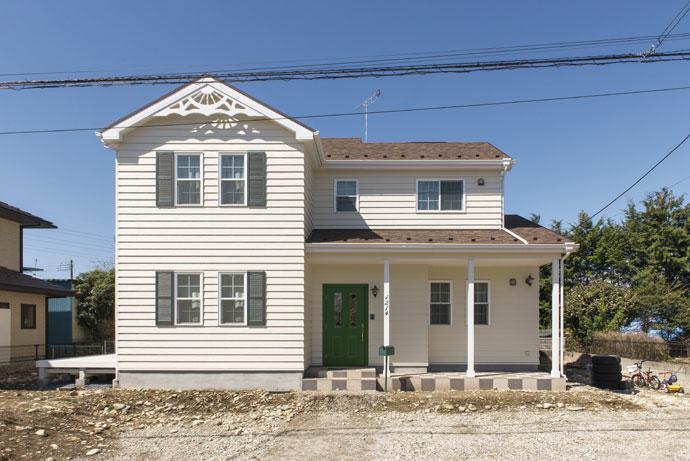 注文住宅 かっこいい工務店 ハウスデザイン Ie Plan イエプラン 施工例8a 北米スタイル