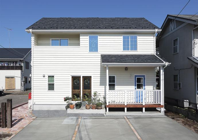 注文住宅 かっこいい工務店 ハウスデザイン Ie Plan イエプラン 施工例9a 北米スタイル