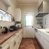 注文住宅 かっこいい工務店 ハウスデザイン Ie Plan イエプラン 施工例9f オープンキッチン 造作キッチン 無垢扉