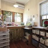 注文住宅 かっこいい工務店 ハウスデザイン Ie Plan イエプラン 施工例9h パウダールーム 造作洗面 造作収納棚