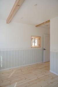 注文住宅 かっこいい工務店 規格住宅 ブレスホーム 赤毛のアン 完成見学会 主寝室2