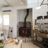 注文住宅 かっこいい工務店 店舗施工例 不動産プラザ 雑貨&カフェ コヨリ6