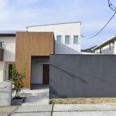 注文住宅 かっこいい工務店 規格住宅 熊本 ブレス 施工例 熊本市東区 ナチュラルモダン 外観