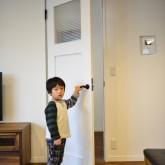 注文住宅 かっこいい工務店 規格住宅 熊本 ブレス 施工例 熊本市東区 ナチュラルモダン 木製ドア 自然塗料