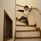 注文住宅 かっこいい工務店 規格住宅 熊本 ブレス 施工例 熊本市東区 ナチュラルモダン 階段
