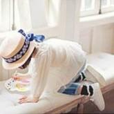注文住宅 かっこいい工務店 輸入住宅 ブレス 店舗併用住宅 熊本 Walnut 子供服&作家さんアクセサリー・雑貨 キッズ 麦わら帽子2