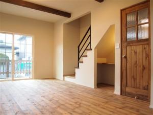 注文住宅 かっこいい工務店 山形県山形市 福井建設の家 モデルハウス リビング